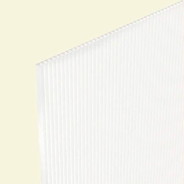 Twinwall Plastic Sheet 24x36 4MM 15 Pack Natural
