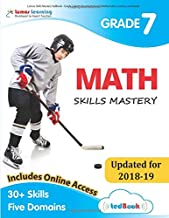 Lumos Skills Mastery tedBook - Grade 7 Math: Standards-based Mathematics practice workbook
