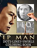Ip Man Dots Lines Swirls Coloring Book: Great Gift Activity Diagonal-Dots-Swirls Books For Adults