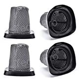 Techypro 4 Pack Replacement Style F-25 Dust Cup Filter for Dirt Devil 083405 and SD20000 model vacuums(NOT FIT SD20000RED), Replace Part # 2SV1102000