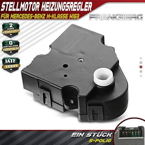 Regulador de temperatura AC para W163 ML230 ML270 ML320 ML350 ML400 ML430 ML500 ML55 AMG 1998-2005 604-938 1638200108