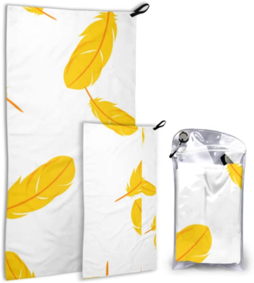 WUTMVING Yellow Soft Feather Dream 2 Microfiber Acces Pack price Beach In a popularity