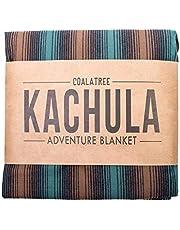 Kachula カチュラ 多機能 アドベンチャー ブランケット キャンプ レジャーシート ポンチョ 防水 防汚 クッション 防災グッズ 災害対策 これ1枚で便利 (Wooded Forest)