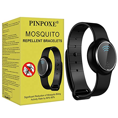 PINPOXE Bracelet Anti-Moustique, Bandes Anti-Moustiques, Ant
