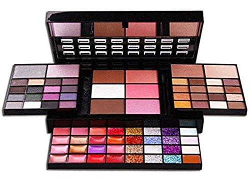 Pure Vie Professionelle 74 Farben Lidschatten Concealer Rouge und Lipgloss Palette Makeup Kit -...