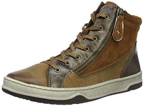 Tamaris Damen 25220 High-Top, Braun (MUSCAT COMB 354), 37 EU