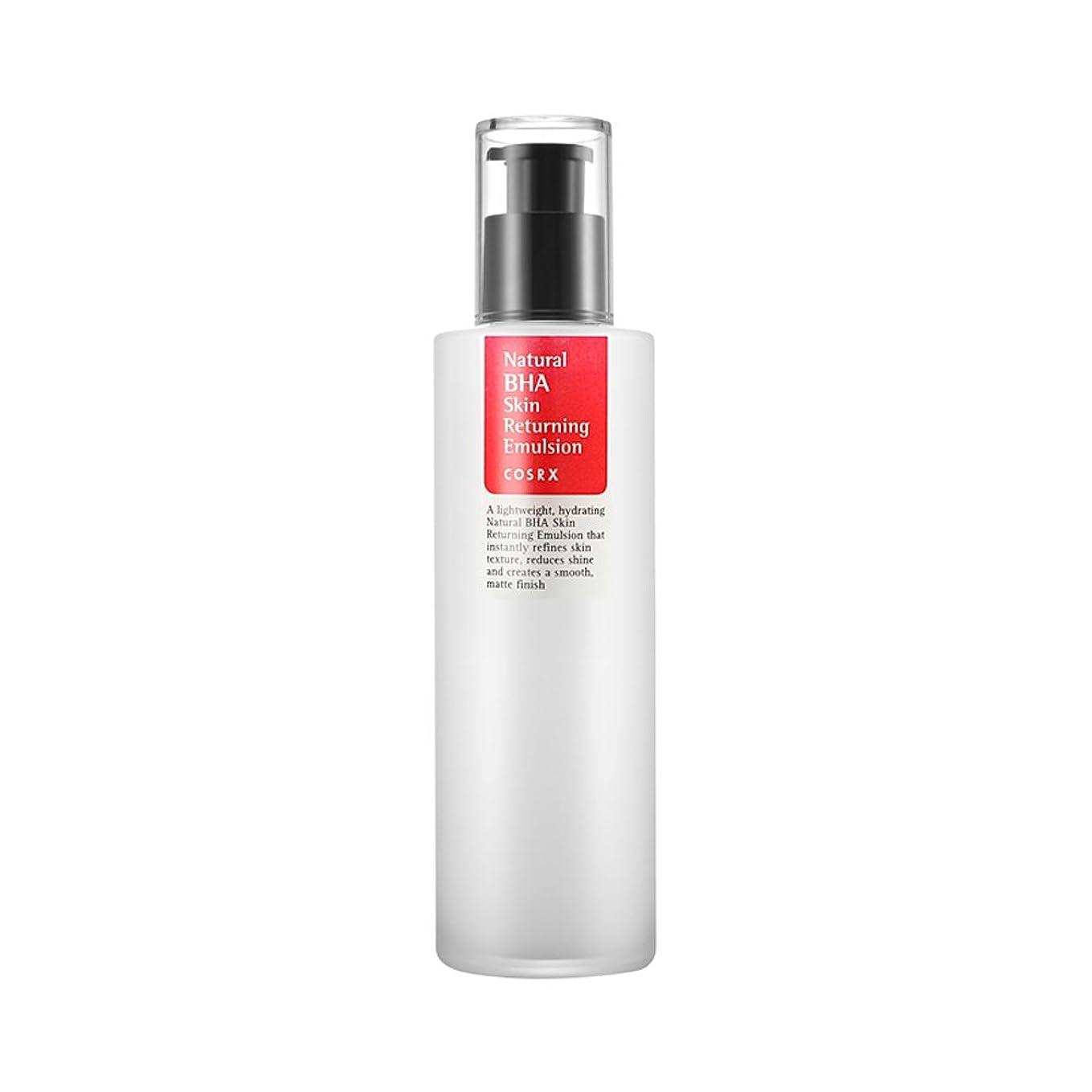 示すシルク減らすCOSRX ナチュラル BHA スキンリータニング エマルジョン/Natural BHA Skin Returning Emulsion(100ml) (100ml*3個)