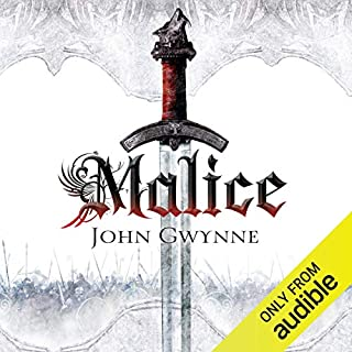 Malice     The Faithul and Fallen, Book 1              By:                                                                                                                                 John Gwynne                               Narrated by:                                                                                                                                 Damian Lynch                      Length: 23 hrs and 56 mins     28 ratings     Overall 4.3
