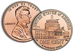 2009 P, D 2 Bankrolls of 50 - Presidency Lincoln Anniversary Cent in Sealed White Government Box - LP4 Uncirculated