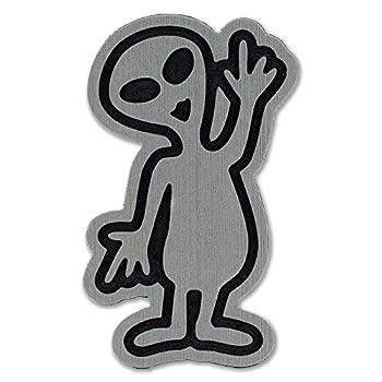 Toejamr Snowboard Stomp Pad - Alien - Gray