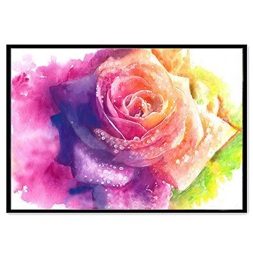 Peinture De Diamant De Plein Exercice De Fleur De Lapin De Papillon De DIY 5D, veyikdg 5D Kit De Peinture en Cristal De Point De Croix Ensemble De Peinture DIY Strass Broderie (H)