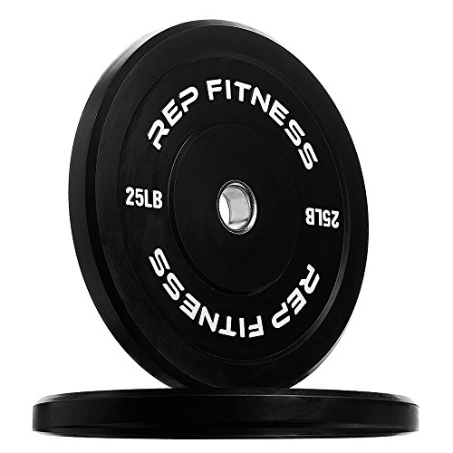 Rep Bumper Plates for Strength and Conditioning Workouts and...