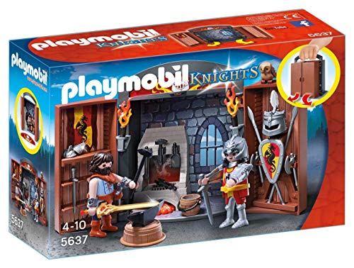 Playmobil 5637 Knights Cofre Caballeros