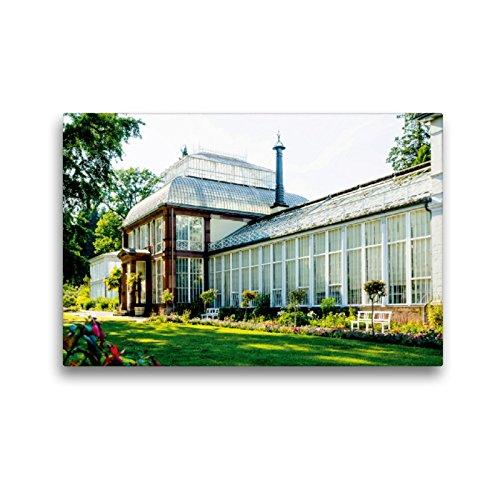 Premium Textil-Leinwand 45 x 30 cm Quer-Format Großes Gewächshaus   Wandbild, HD-Bild auf Keilrahmen, Fertigbild auf hochwertigem Vlies, Leinwanddruck von Markus W. Lambrecht