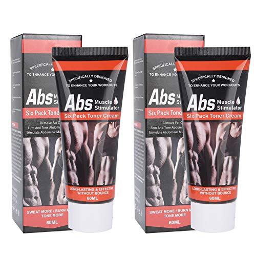 2 uds crema caliente adelgazante crema abdominal crema quemagrasas para muslos piernas abdomen brazos y glúteos para hombres o mujeres