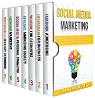 Social Media Marketing: 7 books in 1 Front Cover