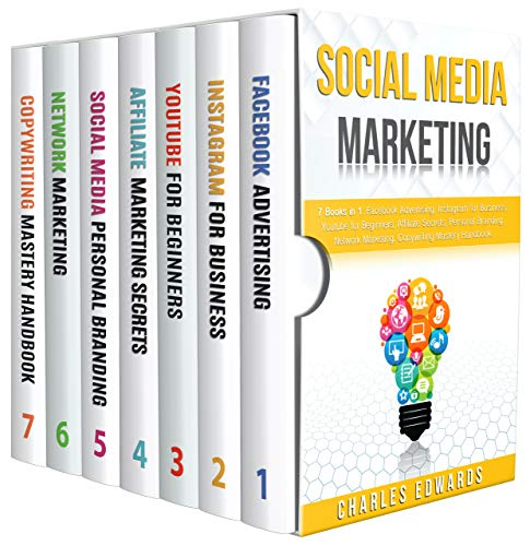 Social Media Marketing: 7 books in 1: Facebook Advertising, Instagram for Business, Youtube for Beginners, Affiliate Secrets, Personal Branding, Network ... Money from Home 2020. 8) (English Edition)