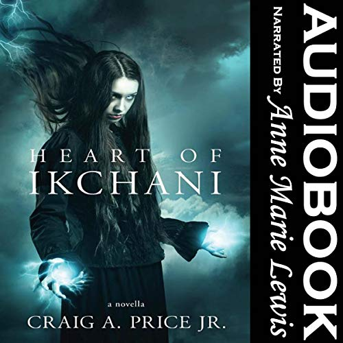 Heart of Ikchani audiobook cover art