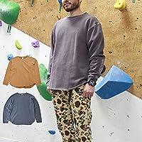 ROKX ロックス メンズ・レディース COTTONWOOD SWEAT CREW コットンウッド スウェットクルー RXMF204121【長袖 Tシャツ ロンT キャンプ用品 アウトドア】INDIGO-S