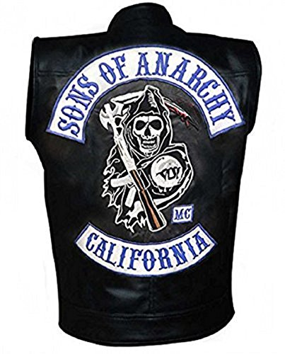 in Similpelle con Toppe Replica Sons of Anarchy Moto