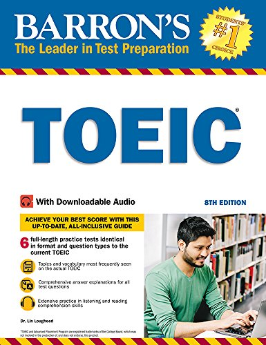 TOEIC: With Downloadable Audio (Barron\'s Test Prep)