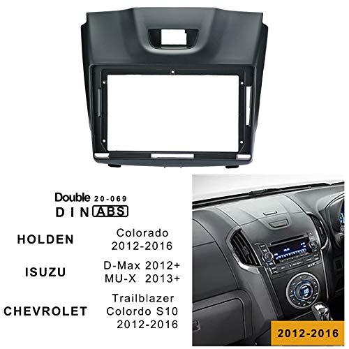 9inch Car Stereo Installation kit,Frame for Holden Colorado 2012-2016,Isuzu D-Max 2012+,MU-X 2013+,Chevrolet Trailblazer and Colorado S10 2012-2016 40-033