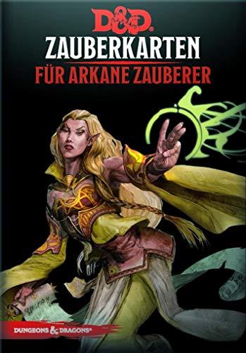 Dungeons & Dragons - Zauberkarten für arkane Zauberer (Dungeons & Dragons / Zubehör)
