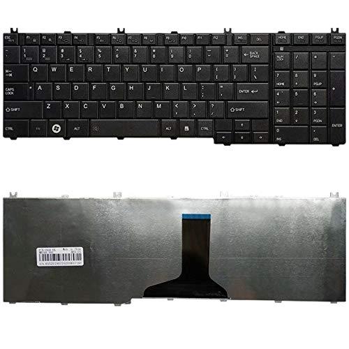 para los teclados de Repuesto Teclado US Version for Toshiba Satellite L670 L670D L675D L675 C660 C655 C660D L655 L655D C650 C670 C650D L650 L750 L750D