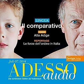 ADESSO audio - Il comparativo. 7/2014 Titelbild