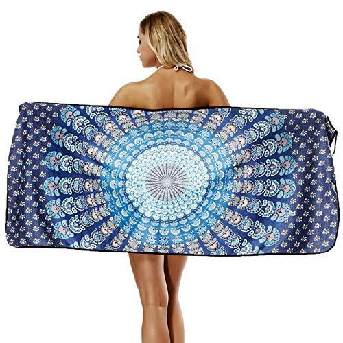 Crystallly Vrouwen Bloemenhals Strandjurk Bikini Badpak Cover Up Strand Eenvoudige Stijl Plus Size Rugloze Strandhanddoek Badpak Kleur1 Eenheidsmaat Thuis Dagelijks Zachte, Warme Absorberende Handdoeken