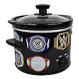 Uncanny Brands WWE Championship Belt 2 QT Slow Cooker- Removable Ceramic Insert Bowl