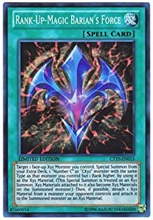 遊戯王 英語版 CT10-EN015 Rank-Up-Magic Barian's Force RUM-バリアンズ・フォース (スーパーレア) Limited Edition