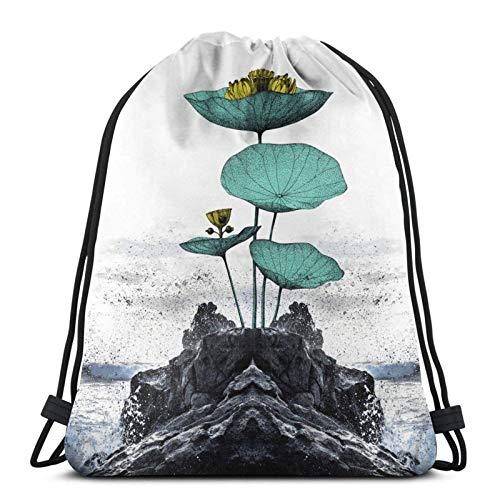 Flotante Diver Home Sweet Home Variedad toalla cara con cordón mochila deporte bolsa gimnasio saco estilo 4