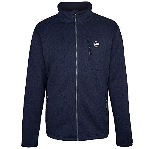 Gill Knit Fleece Jacket 2019 - Navy XL