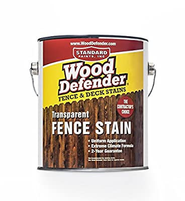 Wood Defender - Transparent Fence Stain- 1 Gallon