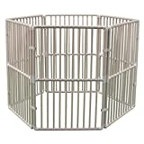 Cardinal Gates Portable Outdoor Pet Pen - Dog Playpen and/or Puppy Playpen is Easy to Transport Due to Light Weight, and Easy to Set-Up