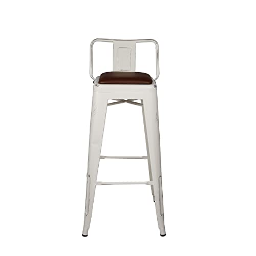 Enjoyable Low Back Counter Stool Amazon Com Creativecarmelina Interior Chair Design Creativecarmelinacom