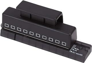 リヒトラブ ワンサードパンチ ツイストノート用 8.47mmピッチ 角穴 10穴 P1601