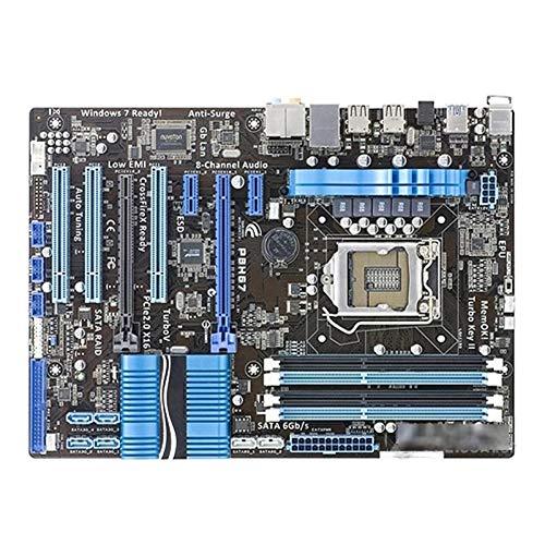 Qgg Mainboard Motherboard-Buchse LGA 1155 USB3.0 SATA3.0 Fit for Asus P8H67 Desktop-Motherboard H67 I3 I5 I7 DDR3-Mainboard