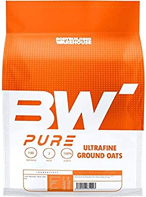 Bodybuilding Warehouse Pure Whole Scottish Oats (4kg)