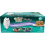 Two (2) Packs of Twelve (12) 3 oz. Cans - Purina Fancy Feast Wet Cat Food Variety Pack; Medleys Shredded Fare Collection Real white meat chicken, turkey and tuna for a taste cats love Tender shreds for a tempting texture Accents of garden greens add ...