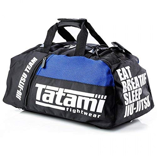 Tatami Fightwear Jiu-Jitsu Gi Gear Bag Large Duffle Bag Backpack Multifunctional Design Carries All Your BJJ Clothing, Gi's, Accessories for Gym, Everyday Use Vented Pockets for Storage