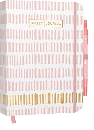 Bullet Journal : Mit Punkteraster, Seiten für Index, Key und Future Log sowie ... praktischem Verschlussband und Innentasche: Mit Punkteraster, Seiten ... praktischem Verschlussband und Innentasche