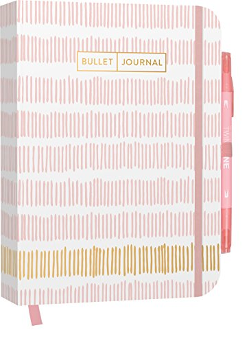 Bullet Journal : Mit Punkteraster, Seiten für Index, Key und Future Log sowie ... praktischem Verschlussband und Innentasche