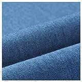 stretch stoff Gewaschener Jeansstoff Weicher Stoff Aus 100%