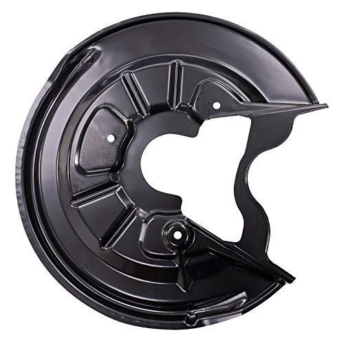 1x Deckblech Ankerblech Spritzblech Bremsscheibe hinten Hinterachse rechts