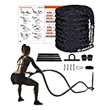 Battle Rope for Home Gym Workout Rope weighted ropes for working out Exercise Ropes Heavy Ropes for Exercise Training 30FT Battle Ropes