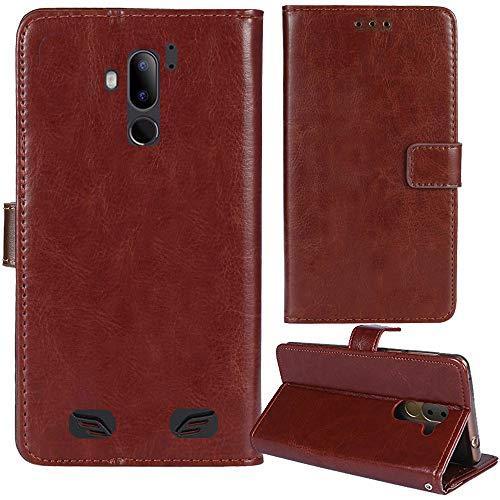 Lankashi Premium Retro Business Flip Book Stand Brieftasche Leder Tasche Schütz Hülle Handy Handy Hülle Für Gigaset GX290 / GX290 Plus 6.1
