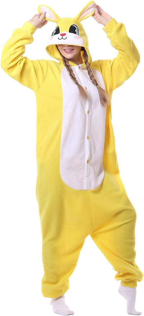 Bunny Pajamas for Women Louisville-Jefferson County Mall Rabbit Costume Animal Piece Over item handling ☆ One Adult Ha