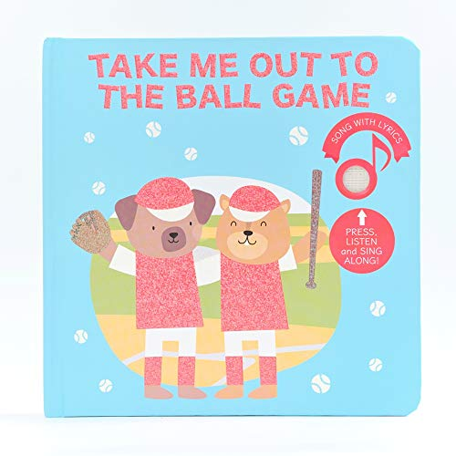 Cali's Books- Take Me Out To The Ball Game- Interactive Sound Book for Children. Singalong baseball board book for babies and toddlers. The perfect gift for a little baseball fan